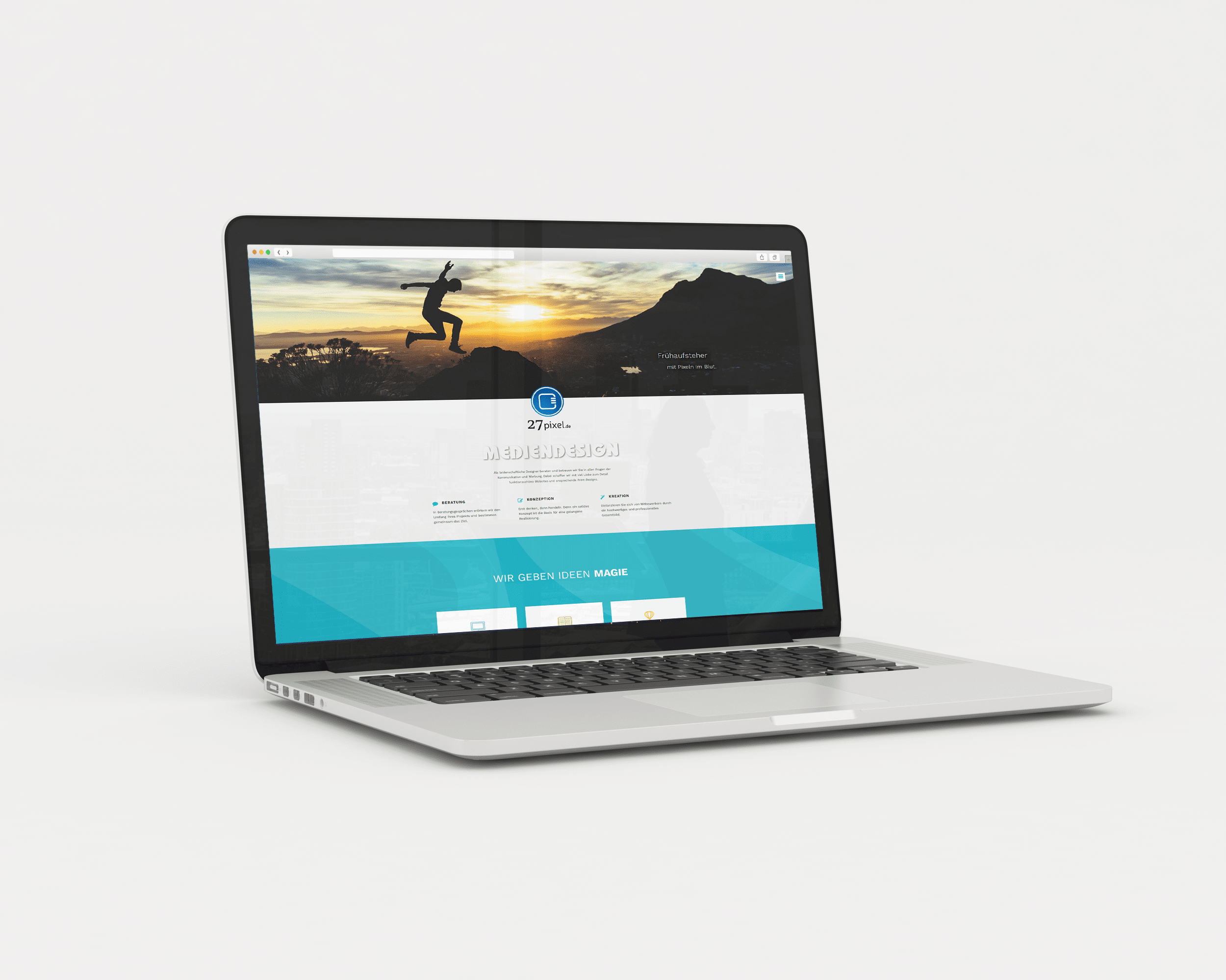 Website im neuen Gewand