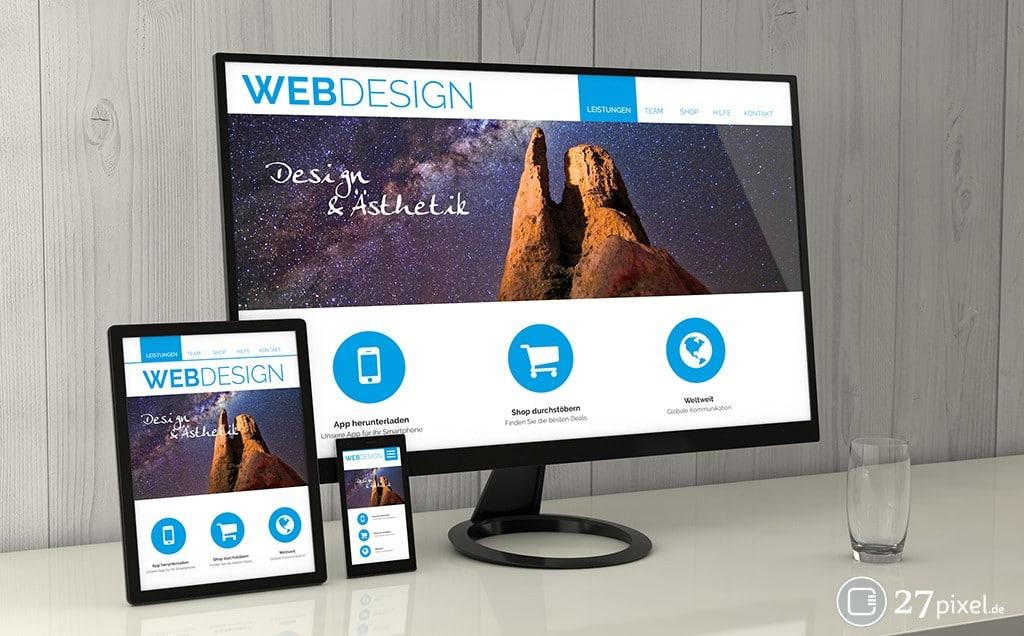 Website professionell erstellen lassen