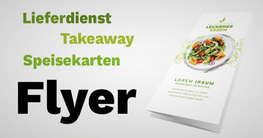 Takeaway Flyer