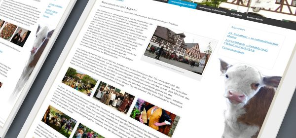 Hirtenmuseum Website